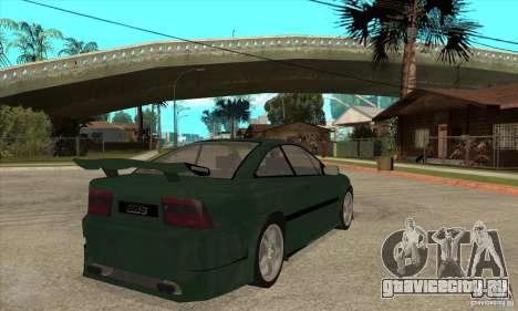Opel Calibra для GTA San Andreas вид справа