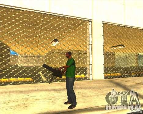 M134 minigan для GTA San Andreas второй скриншот