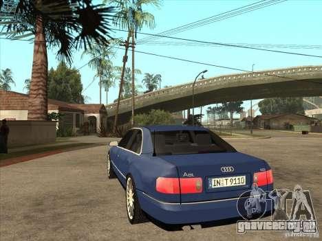 Audi A8 для GTA San Andreas