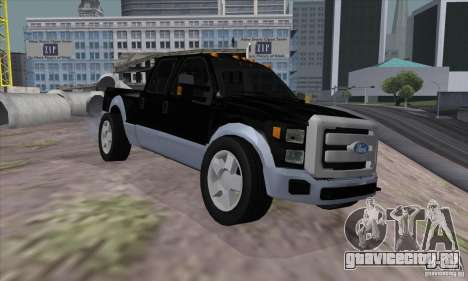 FORD F450 SUPER DUTE для GTA San Andreas
