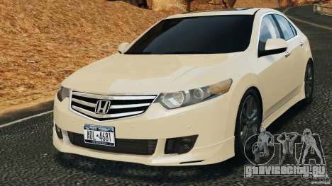 Honda Accord Type S 2008 для GTA 4
