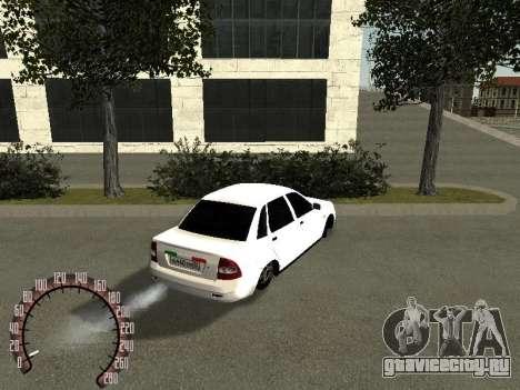 Lada Priora ВАЗ 2170 для GTA San Andreas вид сзади слева