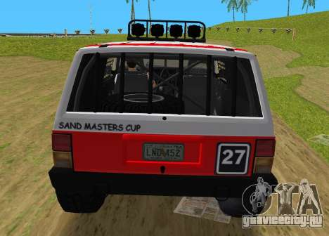 Jeep Cherokee 1984 Sandking для GTA Vice City