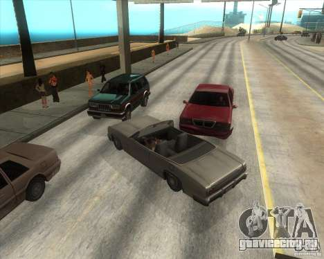 Мод от Юрки для GTA San Andreas восьмой скриншот