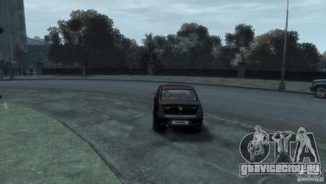 RENAULT LOGAN для GTA 4 вид справа
