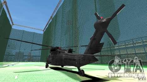Sikorsky UH-60 Black Hawk для GTA 4 вид справа