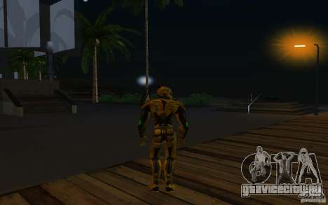 Cyrax 2 из Mortal kombat 9 для GTA San Andreas третий скриншот