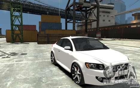 Volvo C30 T5 R-Design 2009 для GTA 4 вид сзади