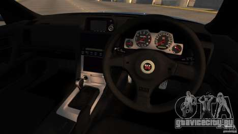 Nissan Skyline GT-R (BNR34) 2002 для GTA 4 вид сзади