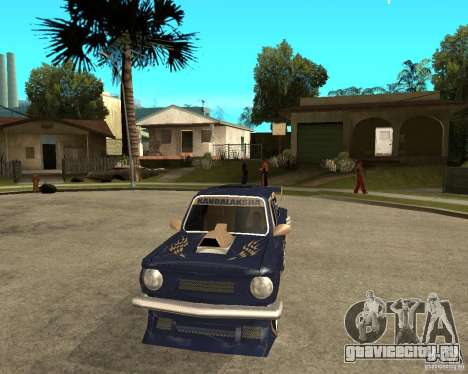 ЗАЗ - 968м STREET tune для GTA San Andreas вид сзади