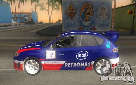 Новые винилы к Subaru Impreza WRX STi для GTA San Andreas