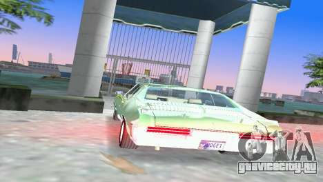 Pontiac GTO The Judge 1969 для GTA Vice City вид сзади слева