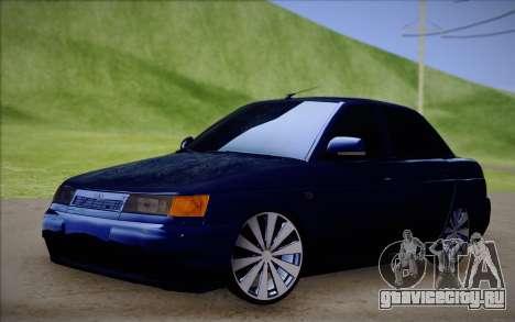 ВАЗ 2110 Качественная для GTA San Andreas вид слева