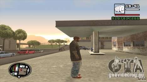 Sam B from Dead Island для GTA San Andreas третий скриншот