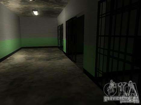 Вход в полицейскую зону в Сан Фиеро для GTA San Andreas седьмой скриншот