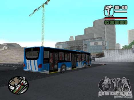 Design-X4-Dreamer для GTA San Andreas вид сзади