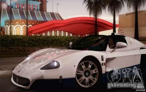 Maserati MC12 V1.0 для GTA San Andreas колёса