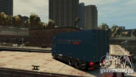 Scania R580 для GTA 4 вид слева