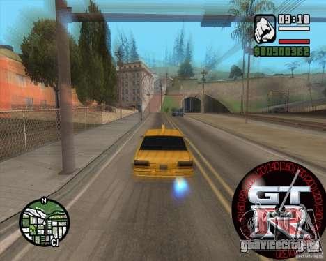 Спидометр GT-R для GTA San Andreas второй скриншот