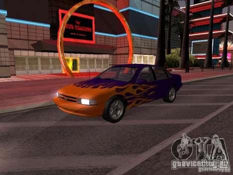 Chevrolet Impala SS 1995 для GTA San Andreas салон