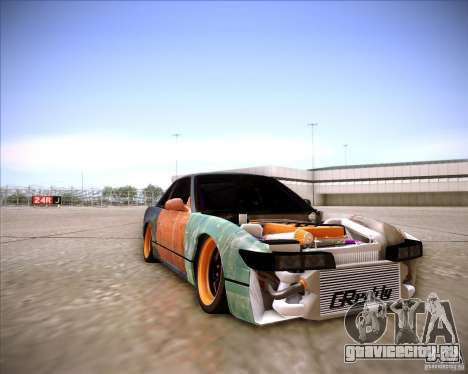 Nissan Silvia S13 Under Construction для GTA San Andreas вид сбоку
