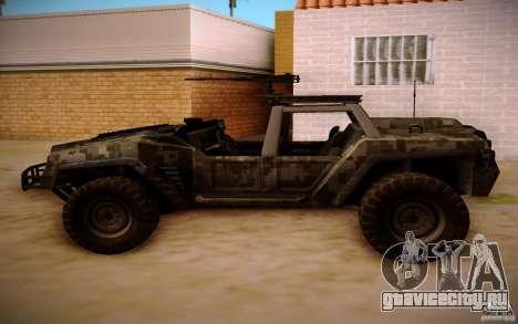 SOC-T from BO2 для GTA San Andreas вид сзади