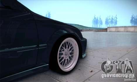 Honda Civic 6Gen для GTA San Andreas вид сзади
