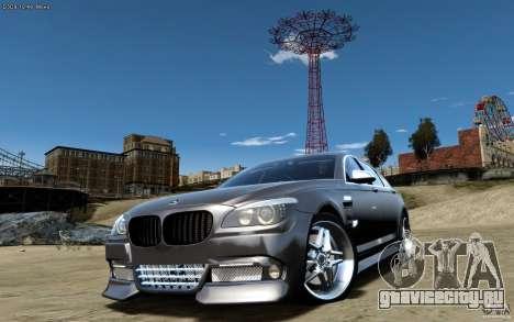 Меню и экраны загрузки BMW HAMANN в GTA 4 для GTA San Andreas четвёртый скриншот