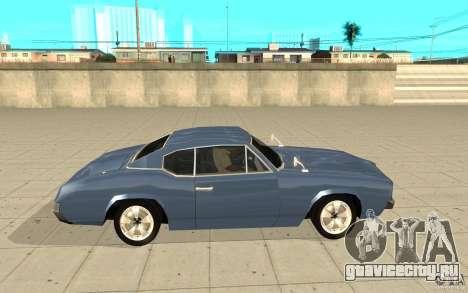 Stallion из GTA 4 для GTA San Andreas вид слева