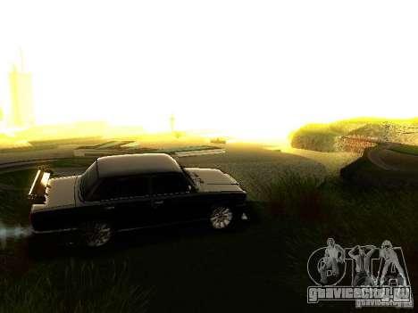 ВАЗ 2107 X-Style для GTA San Andreas вид сверху