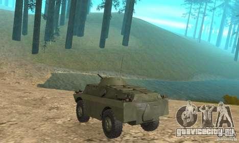 БРДМ-2 Стандартный вариант для GTA San Andreas вид справа
