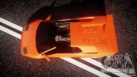 Lamborghini Diablo 6.0 VT для GTA 4 вид справа