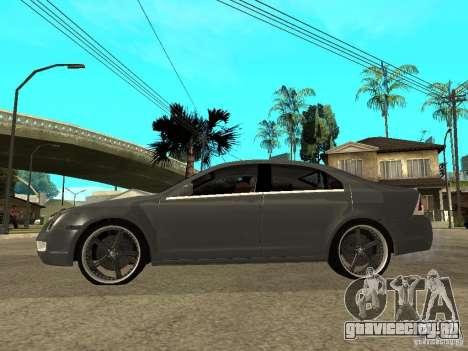 Ford Fusion 2008 Dub для GTA San Andreas вид слева