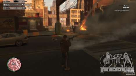First Person Shooter Mod для GTA 4 второй скриншот
