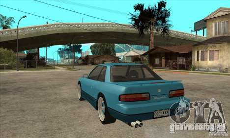 Nissan Silvia S13 1992 Club Ks для GTA San Andreas вид сзади слева