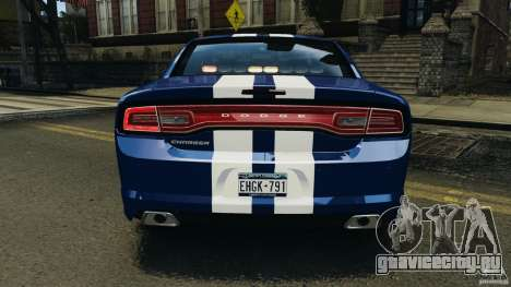 Dodge Charger Unmarked Police 2012 [ELS] для GTA 4 колёса