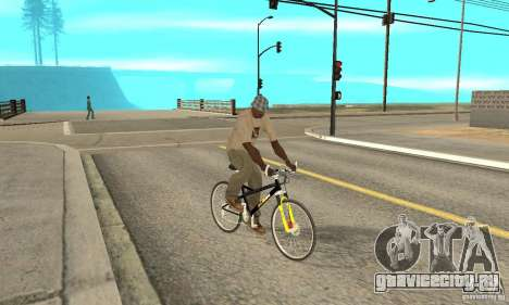 KTM Bike beta для GTA San Andreas вид справа