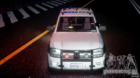 Chevrolet Trailblazer Police V1.5PD [ELS] для GTA 4