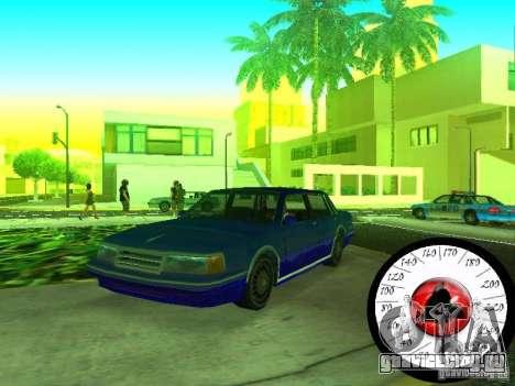 Новый Cпидометр для GTA San Andreas второй скриншот