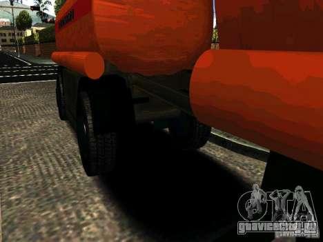 МАЗ 533702 Бензовоз для GTA San Andreas вид сзади слева