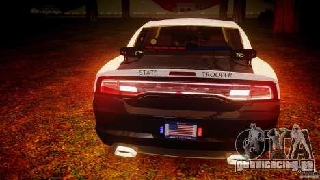 Dodge Charger 2012 Florida Highway Patrol [ELS] для GTA 4 двигатель