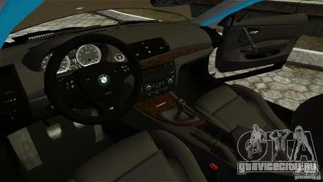 BMW 135i HellaFush для GTA 4 вид справа