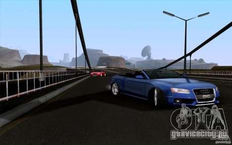 Audi S5 Cabriolet 2010 для GTA San Andreas вид справа