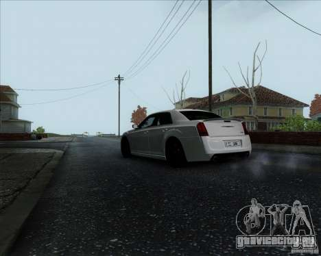 Chrysler 300 SRT-8 Final 2011 для GTA San Andreas вид справа