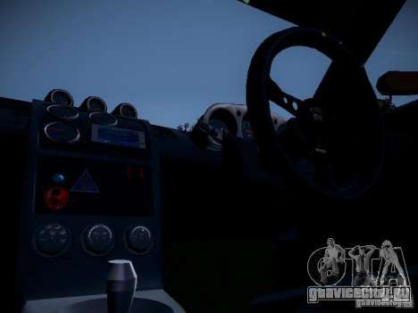 Nissan 370Z Chris Forsberg для GTA San Andreas вид сзади