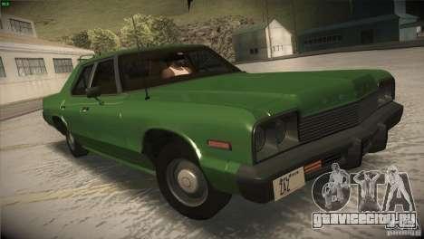 Dodge Monaco для GTA San Andreas вид сбоку