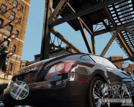 2007 Chrysler Crossfire для GTA 4 вид справа
