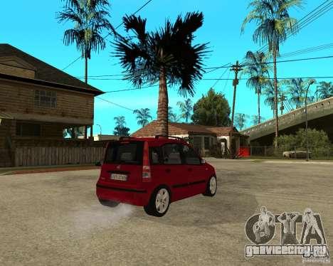 2004 Fiat Panda v.2 для GTA San Andreas вид сзади слева