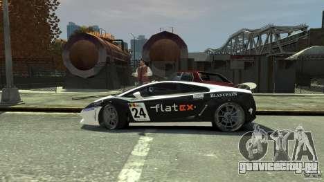 Lamborghini Gallardo SE Threep Edition [EPM] для GTA 4 вид снизу
