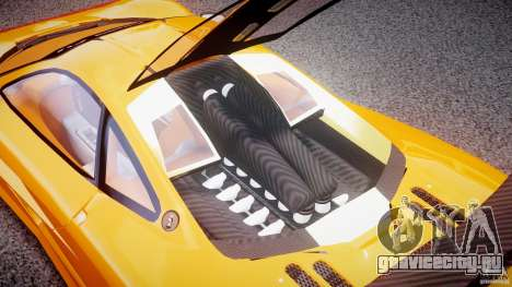 Mc Laren F1 LM v1.0 для GTA 4 вид сзади